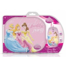DISNEY MOUSE+PAD PRINCESS