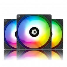 3 бр. aRGB охлаждащи вентилатори за компютърна кутия ID-Cooling XF-120