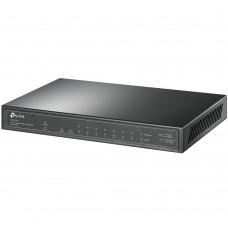 10-портов гигабитен настолен комутатор TP-Link TL-SG1210P с 8-PoE+ пор